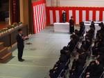筝曲部講師 日之蔵智子先生の退任の会