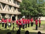 吹奏楽部ランチタイムコンサートが開催されました