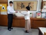 【陸上競技部】雲南会激励金贈呈式